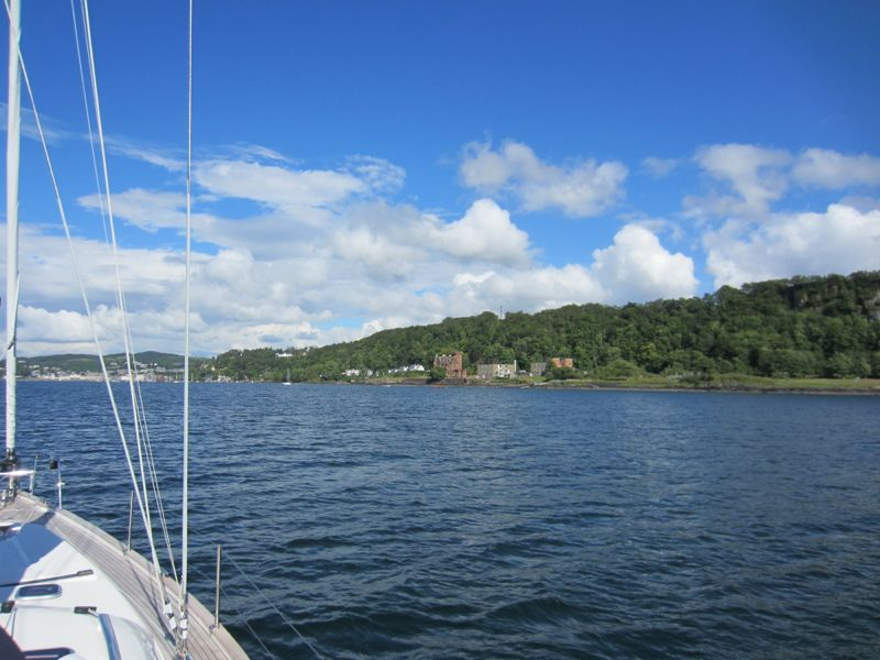 Approaching Oban from South