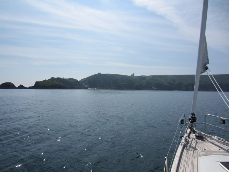 Approaching Lundy