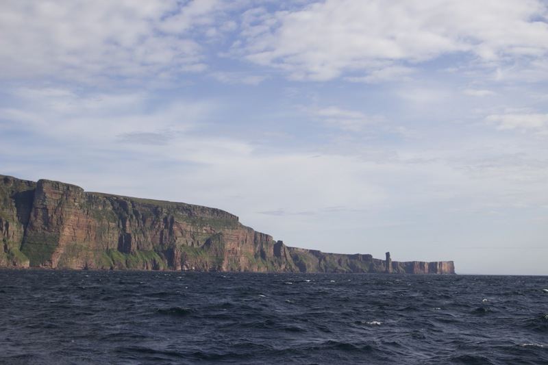 Cliffs and Old Man of Hoy